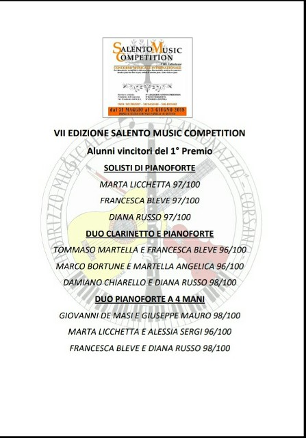 Salento Music Competition